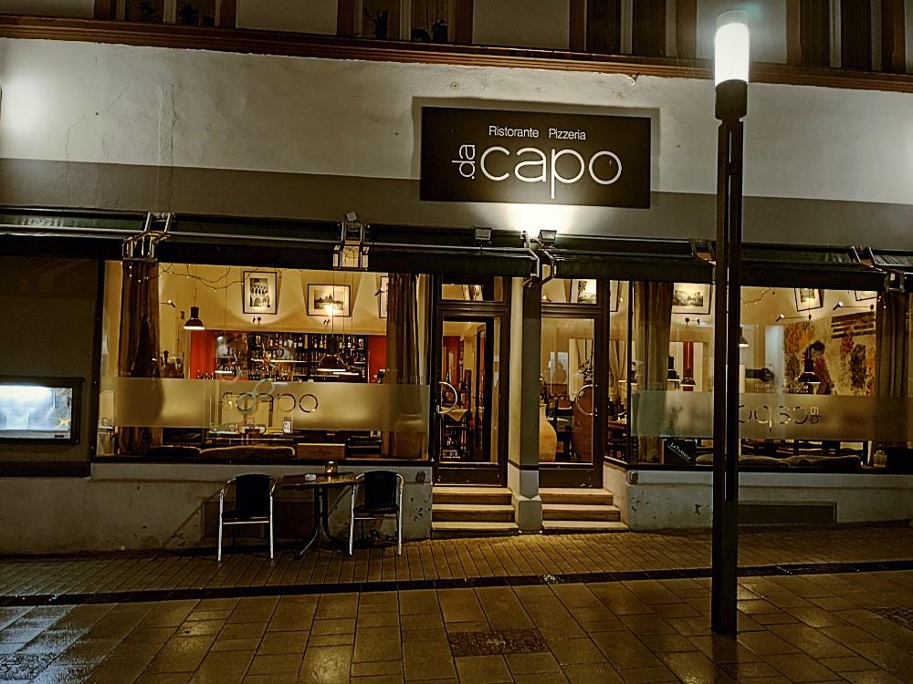 Da Capo Restaurant Front
